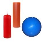 Геометрические декоративные свечи