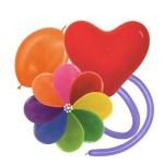 Латексные шары - воздушные надувные шары из латекса