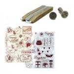 Штампы и печати для скрапбукинга и творчества. Штемпельные подушки и подарочные печати