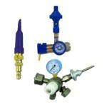 Гелиевые редукторы и насадки для гелия. Оборудование для надувания шаров гелием