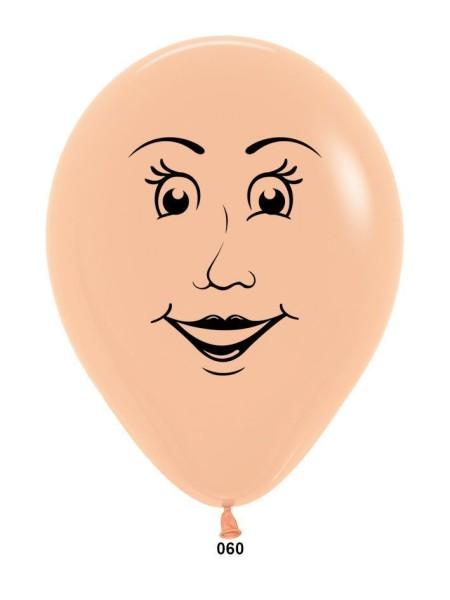 5 Женское лицо одна сторона пастель 100шт Колумбия