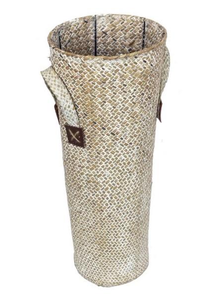 Кашпо плетенное высокое 20 х 50 см