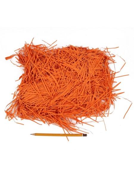 Наполнитель бумажный цвет темно-оранжевый