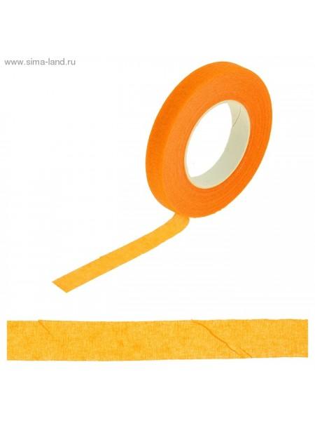Тейп-лента 1,2 см х 27,3 м Оранжевая намотка