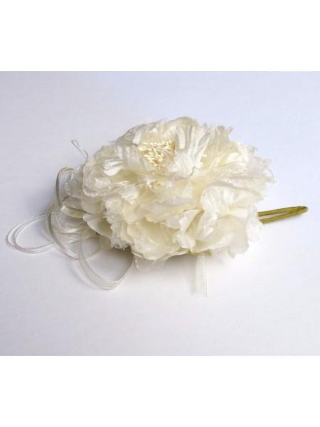Аксессуар свадебный 211-13 цветок с лентами