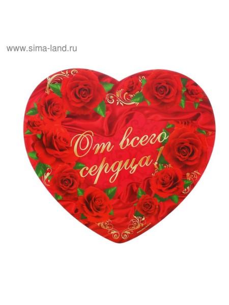 Подставка для торта От всего сердца сердечко