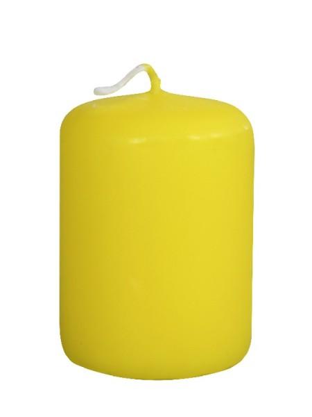 Пеньковая 40 х 50 желтая свеча