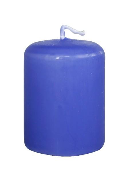 Пеньковая 40 х 50 голубая свеча