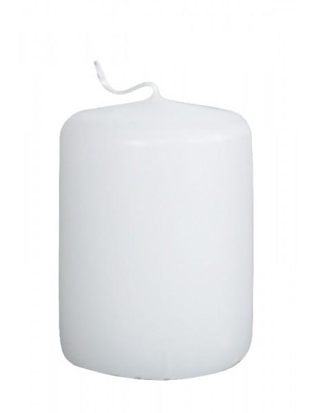 Пеньковая 40 х 50 белая свеча