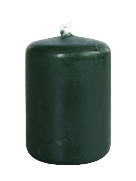 Пеньковая 40 х 50 темно зеленая свеча