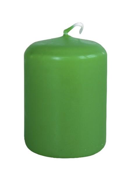 Пеньковая 40 х 50 зеленая свеча