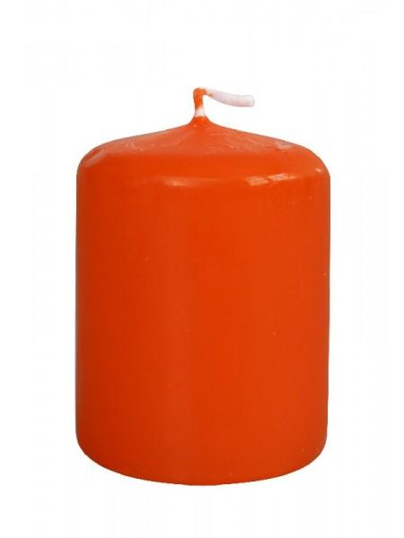 Пеньковая 40 х 50 оранжевая свеча