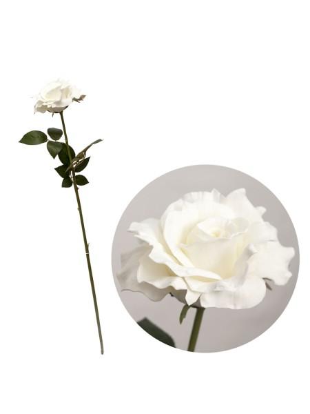 Роза 85 см белая