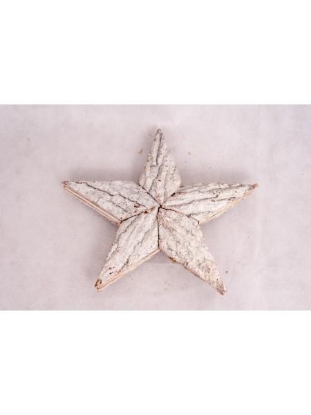 Звезда деревянная 28 см