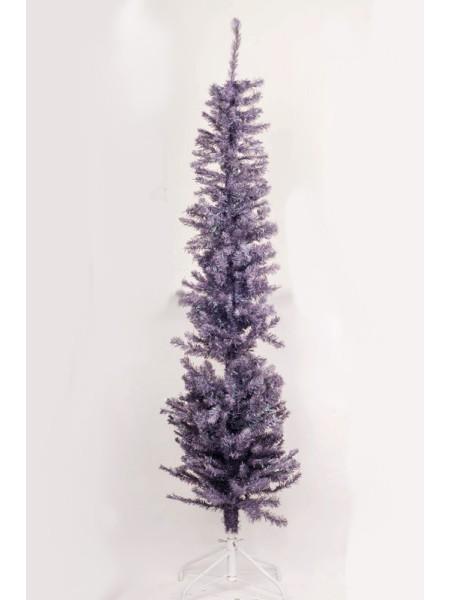 Елка183 см искусственная блеск цвет фиолетовый