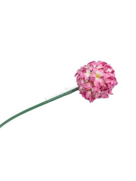 Аллиум 68 см цвет розовый