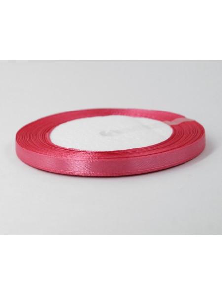 Лента атлас 0,6 см х 25 ярд цвет розовато-лиловый