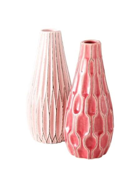 Ваза керамика Н13 см цвет в ассортименте Арт. 1016812