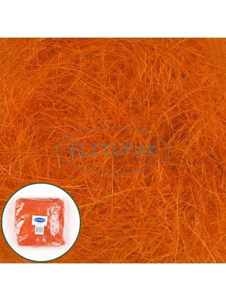 Сизалевое волокно оранжевое 100 гр