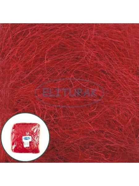 Сизалевое волокно красное 100 гр