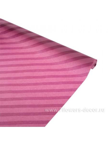 Пергамент 0,5 х 10 м Полосы наклонные на сливе цвет сливовый