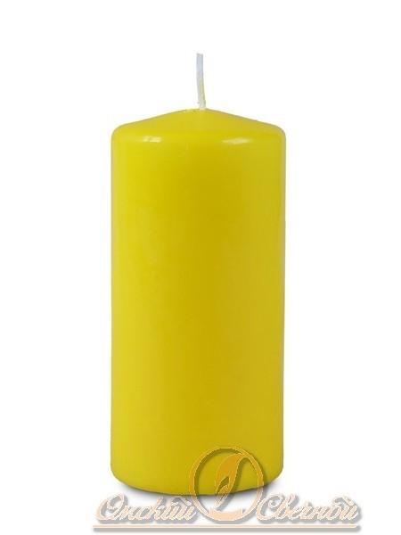 Пеньковая 50 х115 желтая свеча