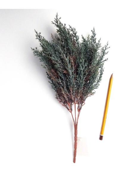 Ветка  можжевельника 35 см цвет темно-зеленый