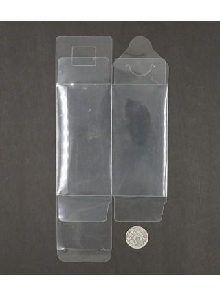 Коробка складная прозрачный пластик 12 х 6 х 6 см HS-52-28