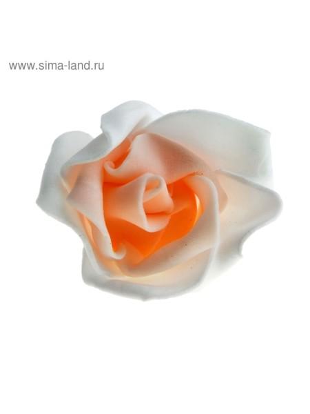 Декор для творчества Розочка двухцветная d=4,5 см МИКС упак 20 шт