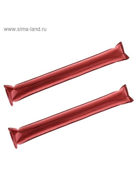 Палка Болельщик набор 2 шт цвет красный