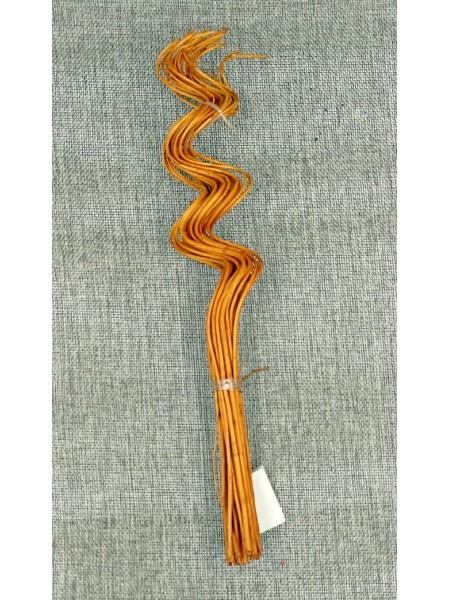 Спиралька букет веток коричневые