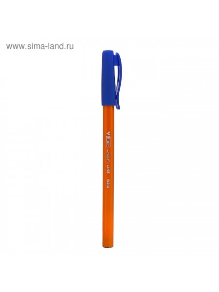 Ручка шариковая Flair Jet -Line Orange узел-игла 0.5 масл основа стержень синий F-705