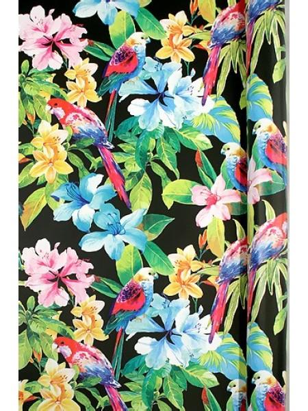 Бумага капелла 41/270-05 Попугая в тропиках 100 см х 10 м рулон