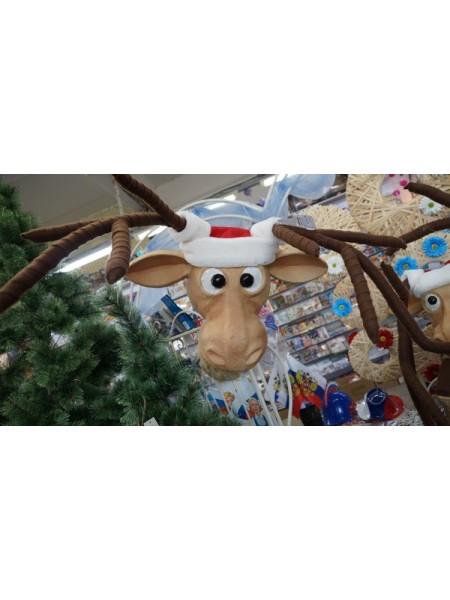 Голова оленя декор настенный  40 х 27 х 120 см