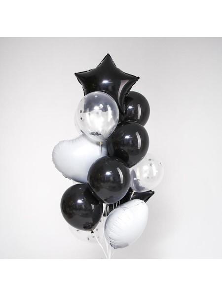 Набор шаров Стиль всегда в тебе фольга латекс набор 14 шт