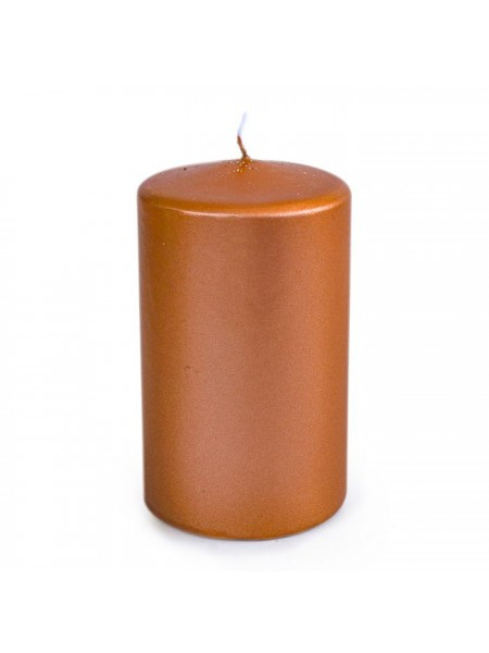 Свеча пеньковая 60 х 100 бронзовый блеск