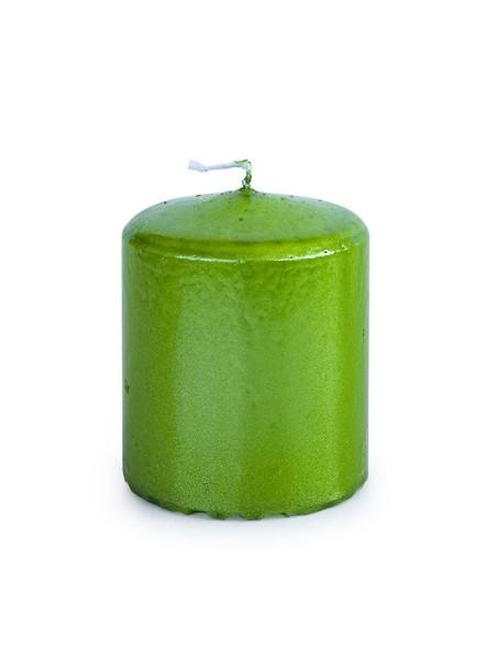 Свеча пеньковая 50 х 60 зеленый блеск