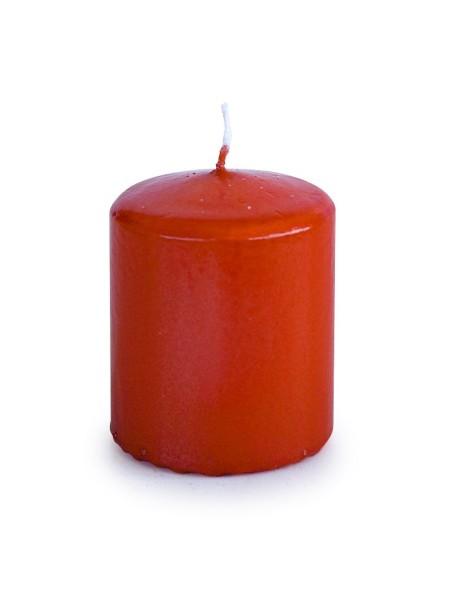 Свеча пеньковая 50 х 60 темно-оранжевый блеск