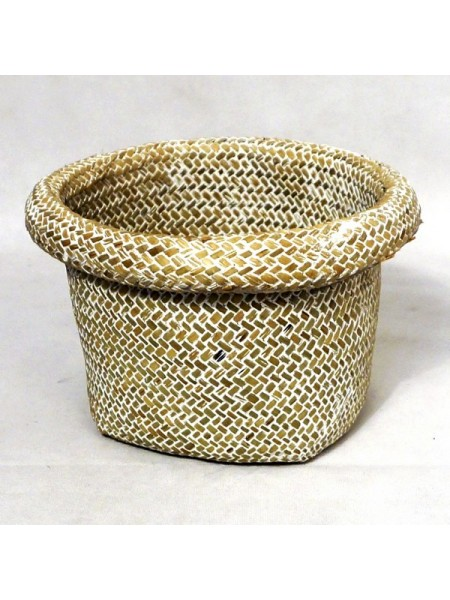 Кашпо плетенное   20 х 15 см