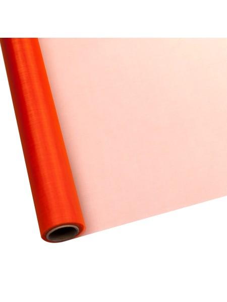 Органза 70 см х 9 м цвет оранжевый Арт 1004