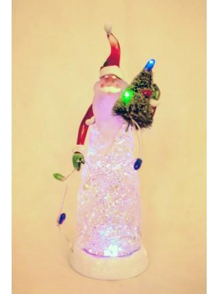Световая фигура Дед Мороз/Снеговик 10*30см