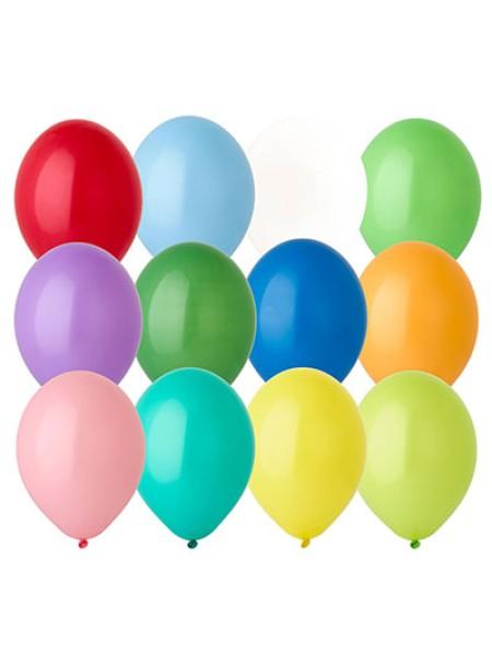 В85 пастель ассорти Экстра шар воздушный