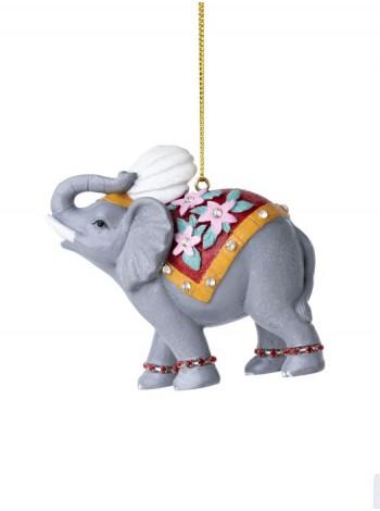 Слон 3,5 х 7,5 х 4 см полирезина