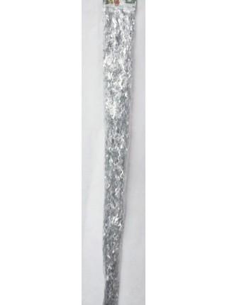 Дождик волна перламутр 1,45 м цвет золото/серебро HS-29-1