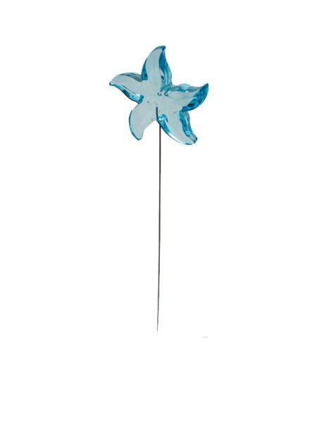 Морская звезда на вставке 6,7см акрил