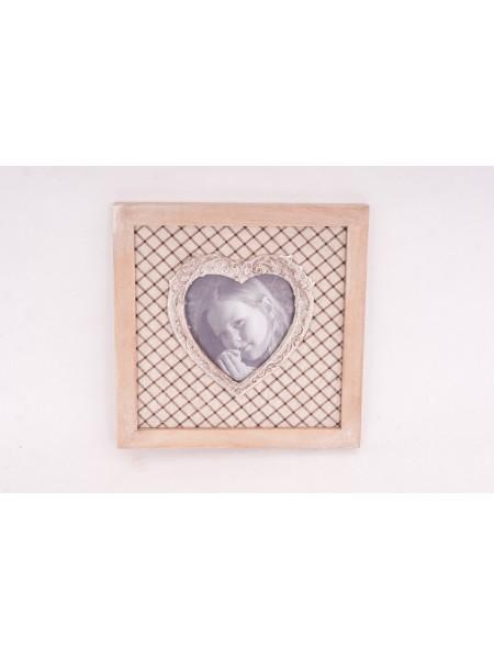 Фоторамка Сердце 19 х 19 см