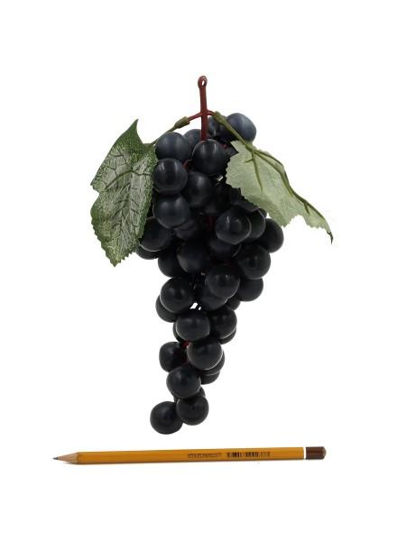 Виноград гроздь 25 см цвет черный HS-1-42-4