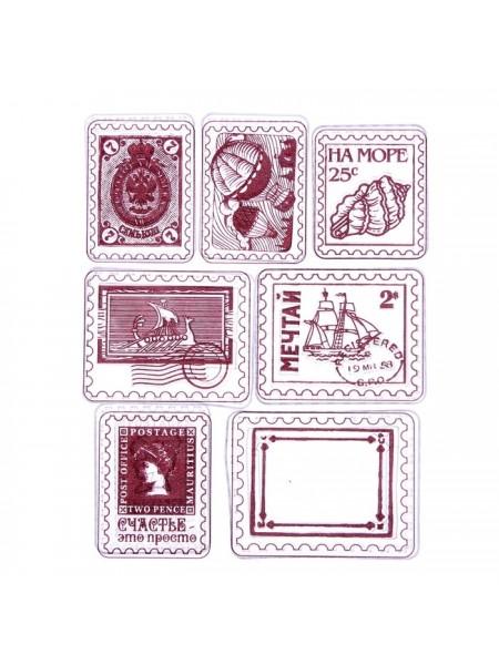 Набор штампов для творчества Морские плашки 14х18 см