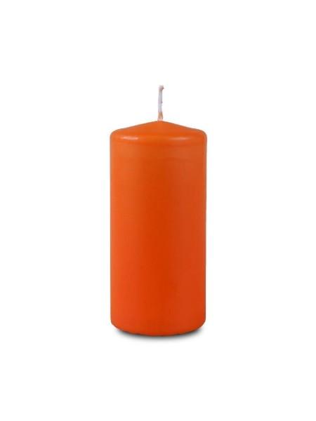 Пеньковая 40 х 90 оранжевая свеча