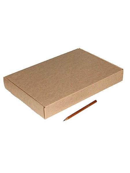Коробка микрогофра 07/001-93 прямоугольник 29,5 х 21 х 4 см
